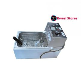 Stainless Steel Electric Deep Fryer – 6.0L