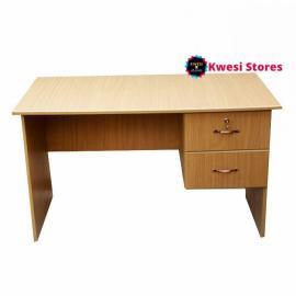 Kwesi stores Table With 2 Drawers And One Locker – Brown