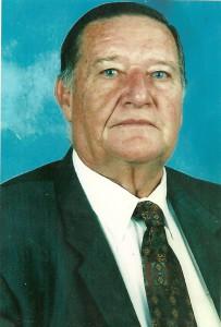 Oom Gert Roets wat op 28 Desember oorlede is.