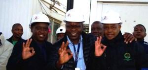Lonmin Media Release Safety 29-Zero Harm foto