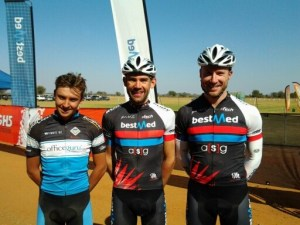30 June Mountain Bike Feature Top three men in 60km