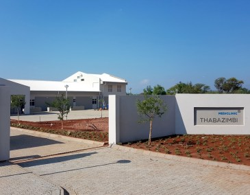 Mediclinic Thabazimbi entrance