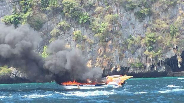 15 Des Seedboat ontplof