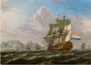 6 April Jan van Riebeeck land in die Kaap Drommedaris