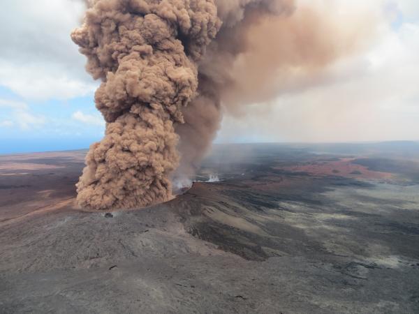 5 Mei Vulkaan Feature