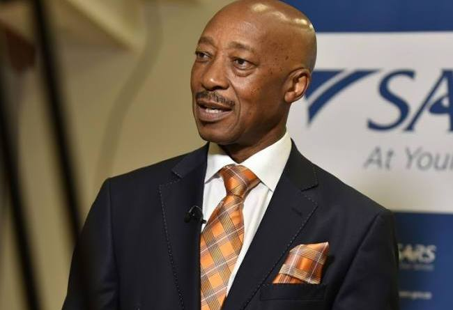 sars-boss Tom Moyane