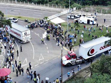 1 Feb 2019 venezuela-crisis-vragmotors met hulp