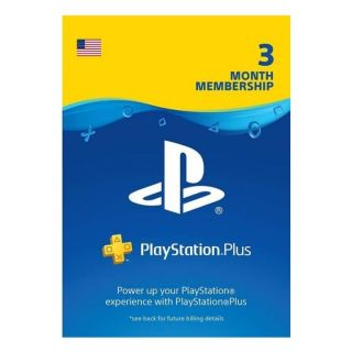 PS+ 3MONTH US