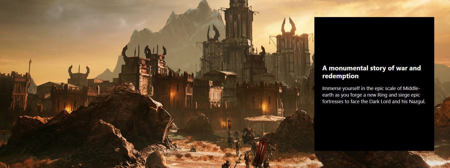 Middle-earth Shadow of War for Xbox One 3