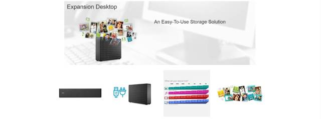 Seagate Expansion 4TB External Hard Drive/HDD