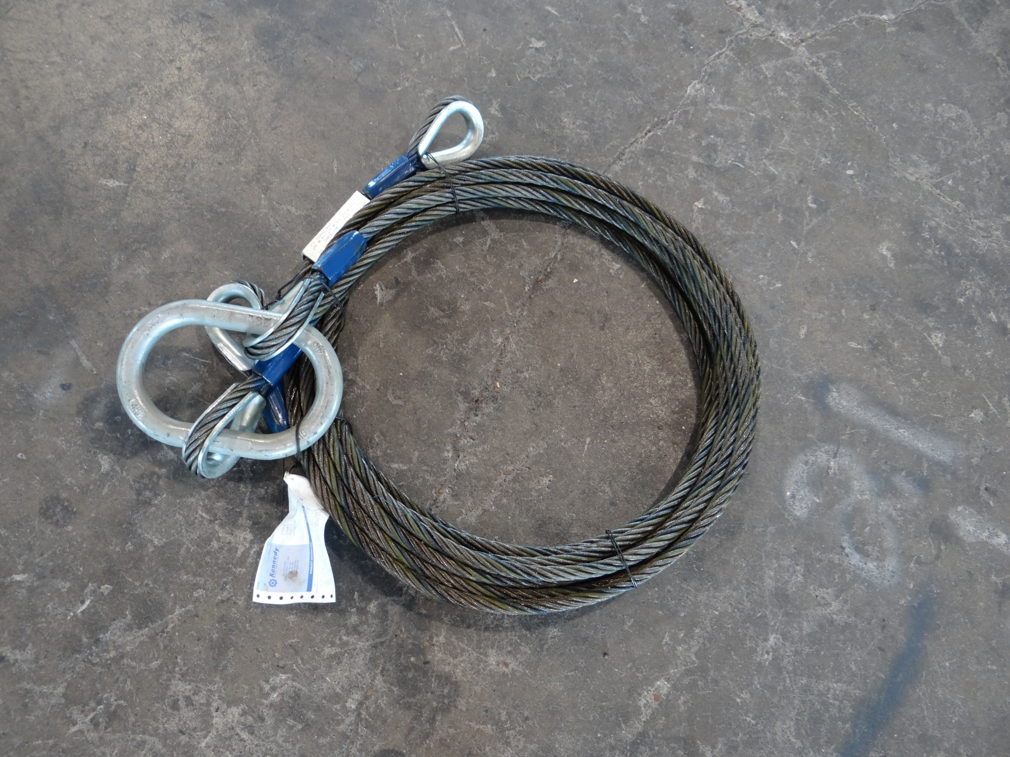 hight resolution of  braided wire rope slings