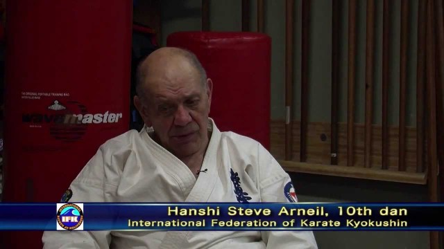 Interview with Hanshi Steve Arneil