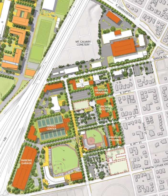 University of Texas East Campus Plan_117373