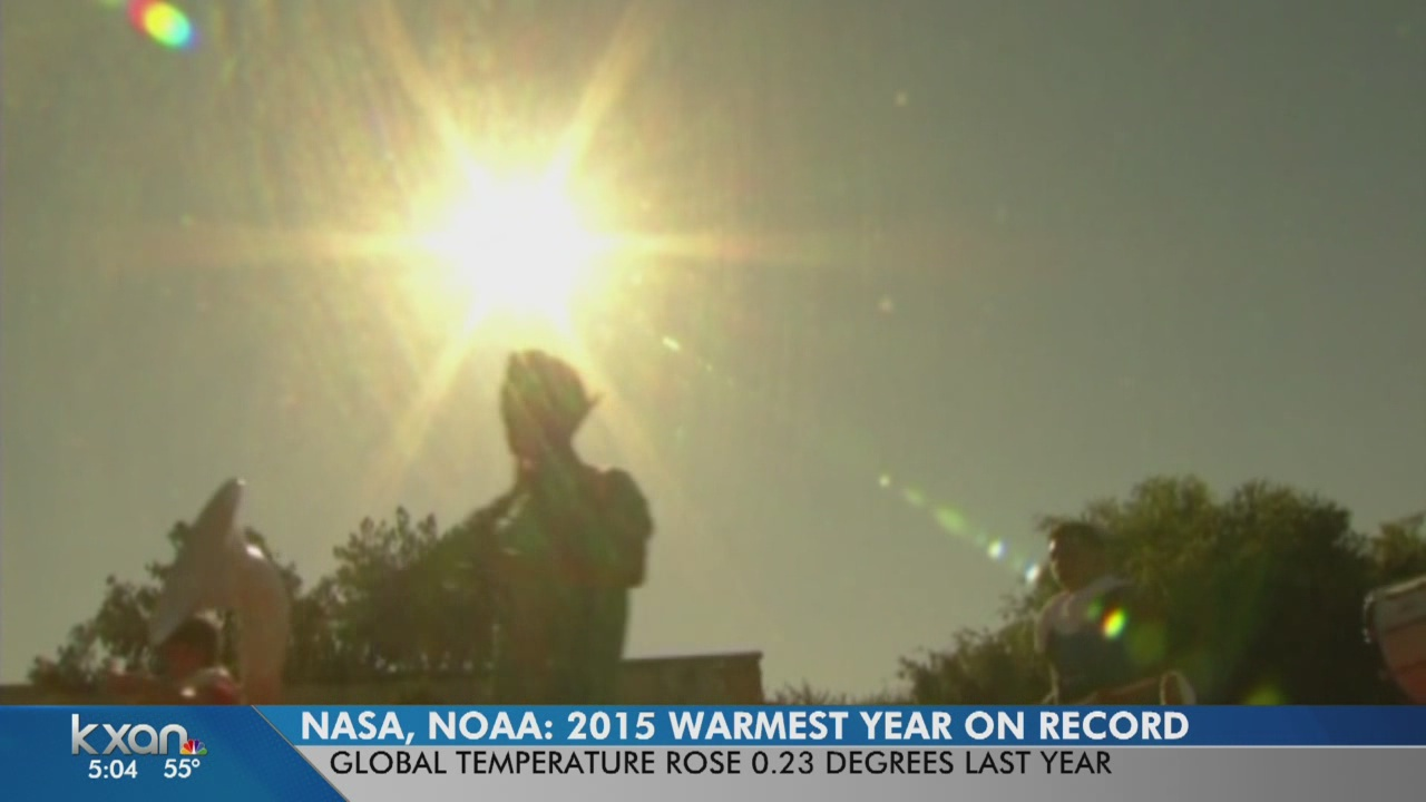 2015 warmest year in over a century