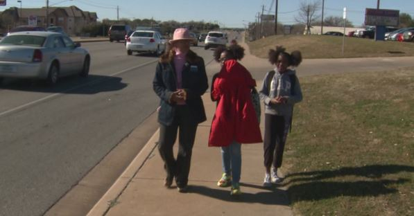 walking from school, Pflugerville crossing guards_241486