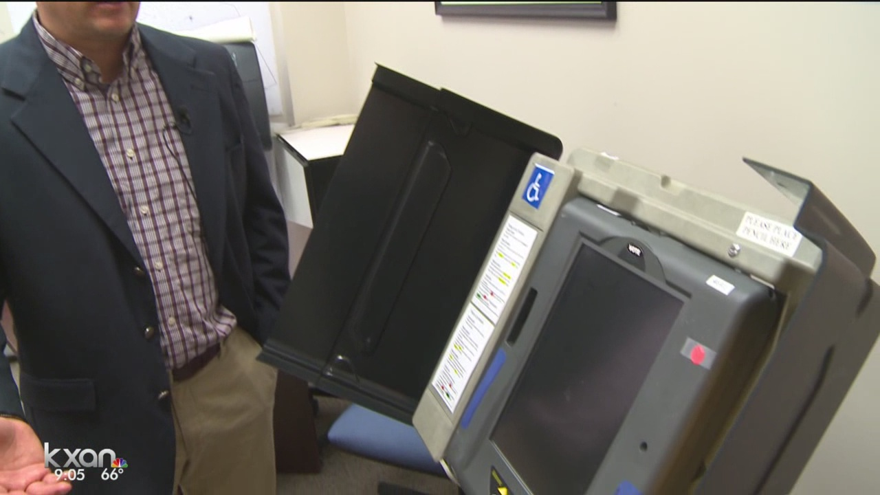 Aging voting machines cause problems for counties
