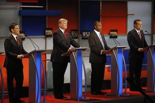 Donald Trump, Ben Carson, Marco Rubio, Ted Cruz_217256