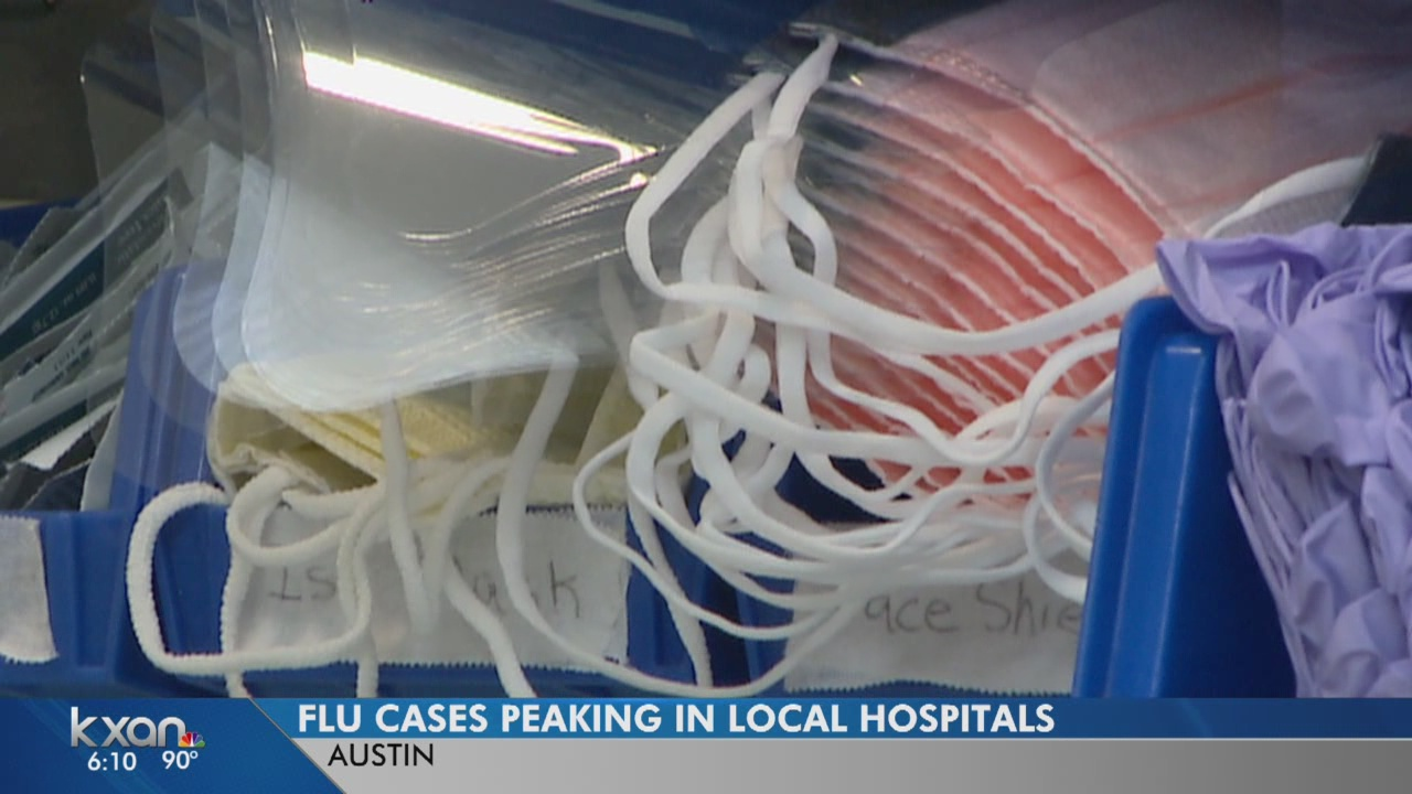 Increase in flu cases at Austin hospitals