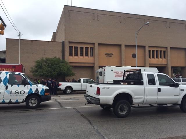 Austin Municipal Court evacuated due to suspicious package_256100