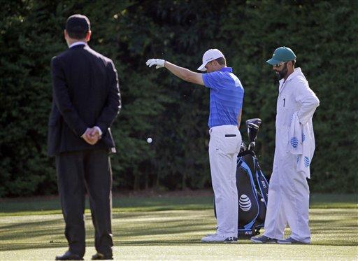 APTOPIX Masters Golf_269581