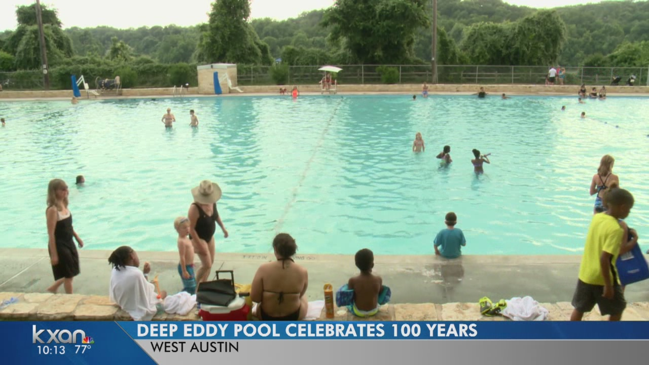 Deep Eddy Pool celebrates 100 years