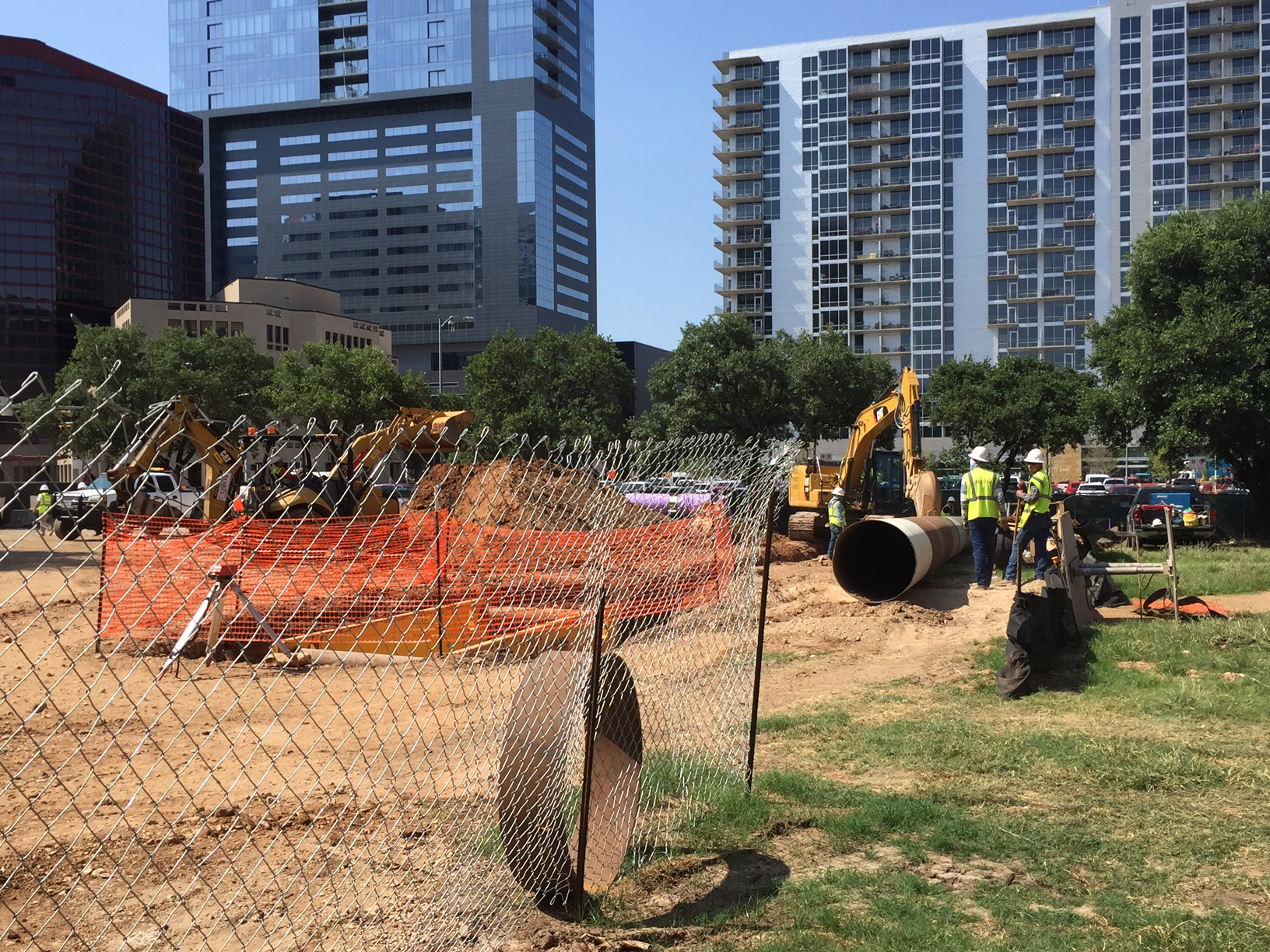 Groundbreaking at Republic Square Park in downtown Austin on June 28, 2016_305422