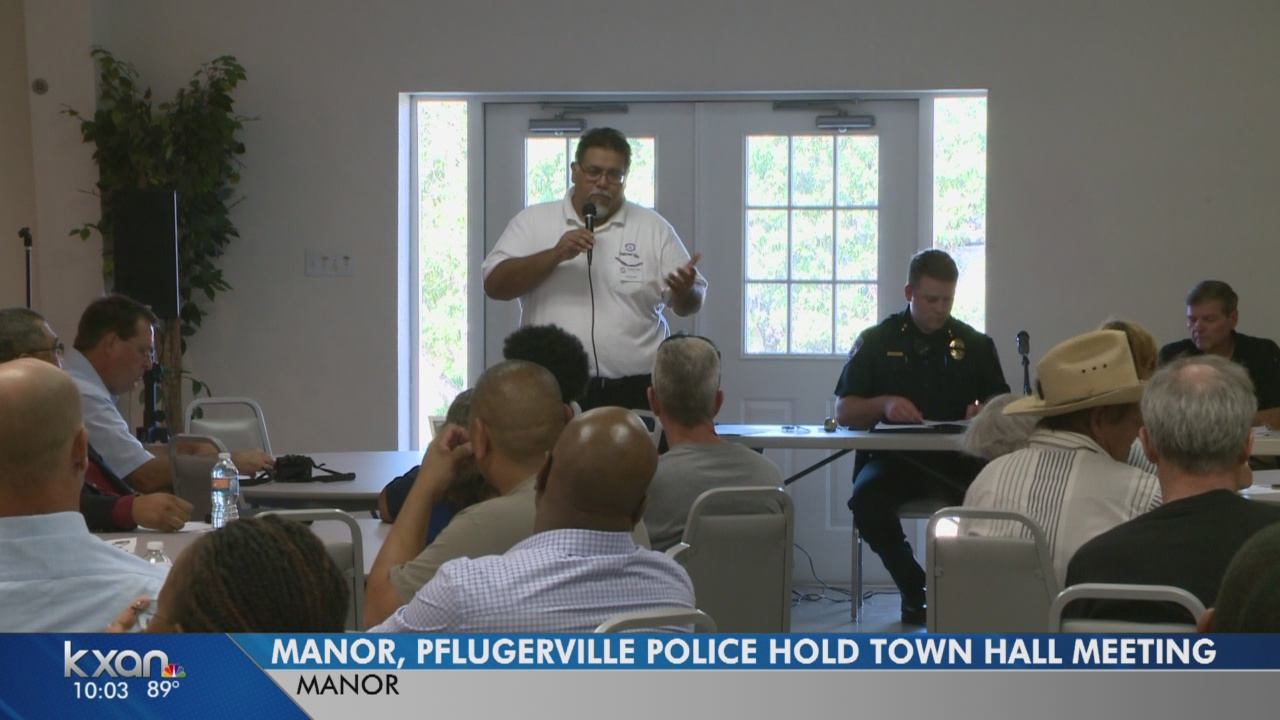 Local police departments team up to hear from communities