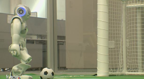 UT's Robot soccer team brought back the gold_367928