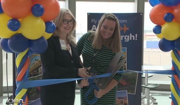 Allegiant Air opens nonstop service to Pittsburgh at ABIA_388852