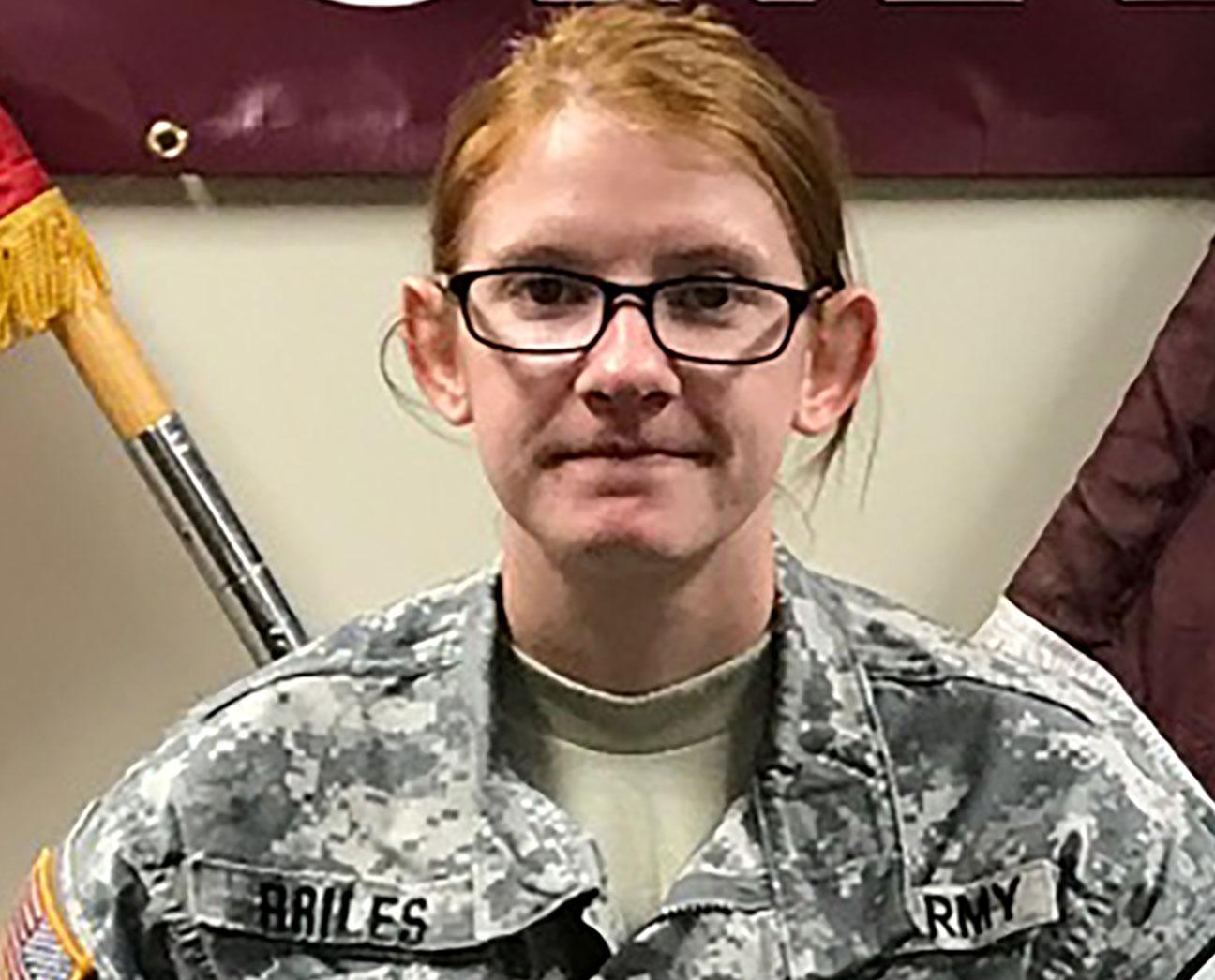Prvt. Paige Elizabeth Briles, 21, was found unresponsive at her home on Fort Hood on Dec. 24, 2016_392958