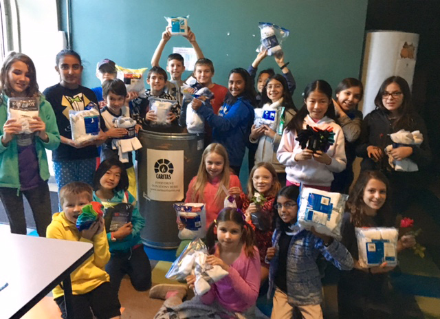 Eanes ISD students collect socks to help keep the homeless people living in Austin warm_383125