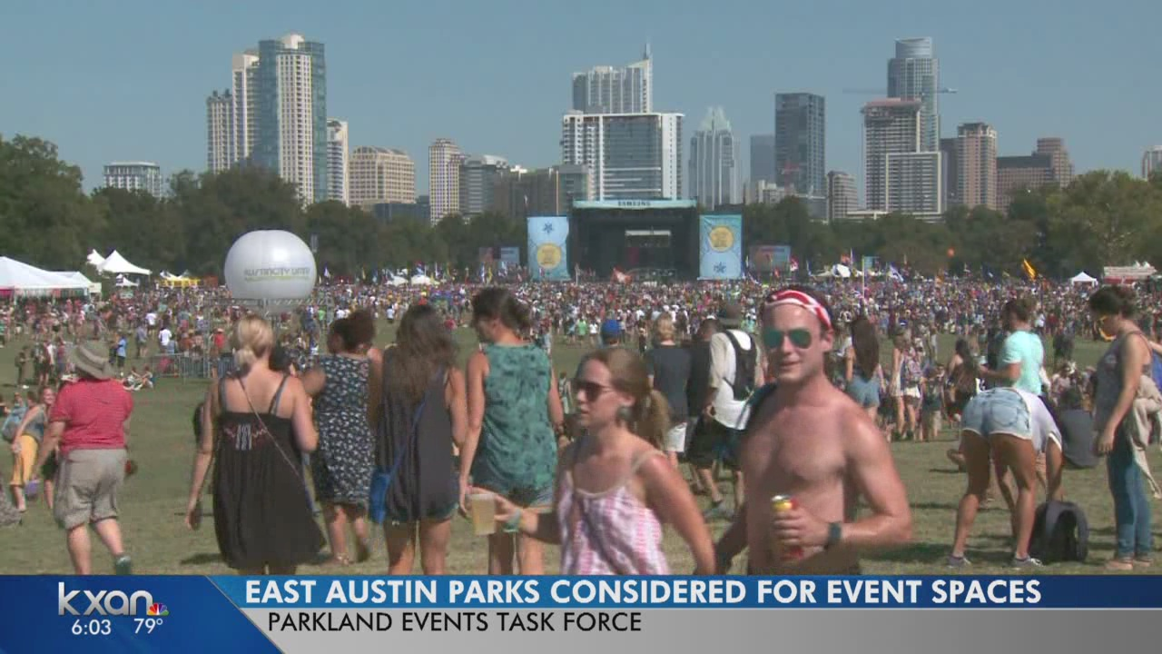 City looks to east Austin parks as alternative event spaces