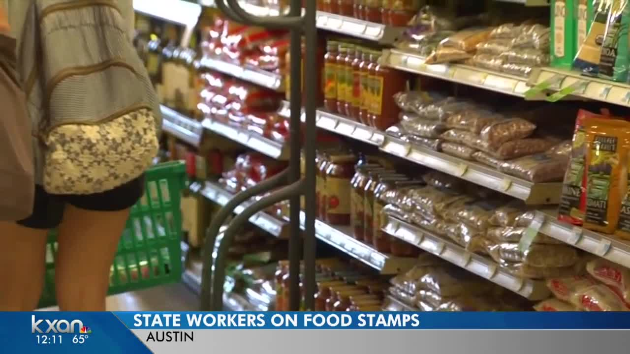 Report: More than 6,000 state employees on food stamps