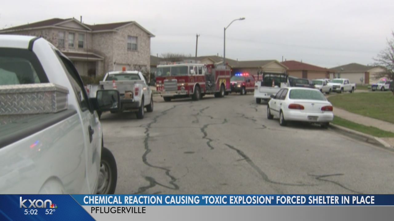'Toxic explosion' in Pflugerville neighborhood contained