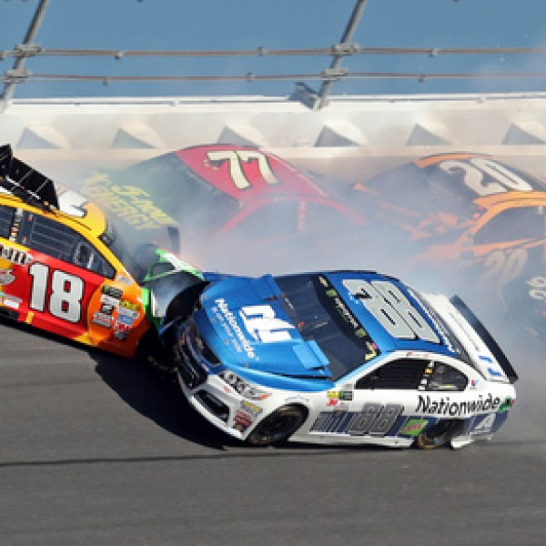 Kyle Busch, Dale Earnhardt Jr., Erik Jones, Matt Kenseth, Elliott Sadler_426422