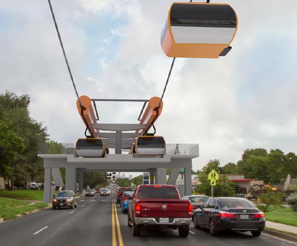 Gondola on South First in Austin_442135