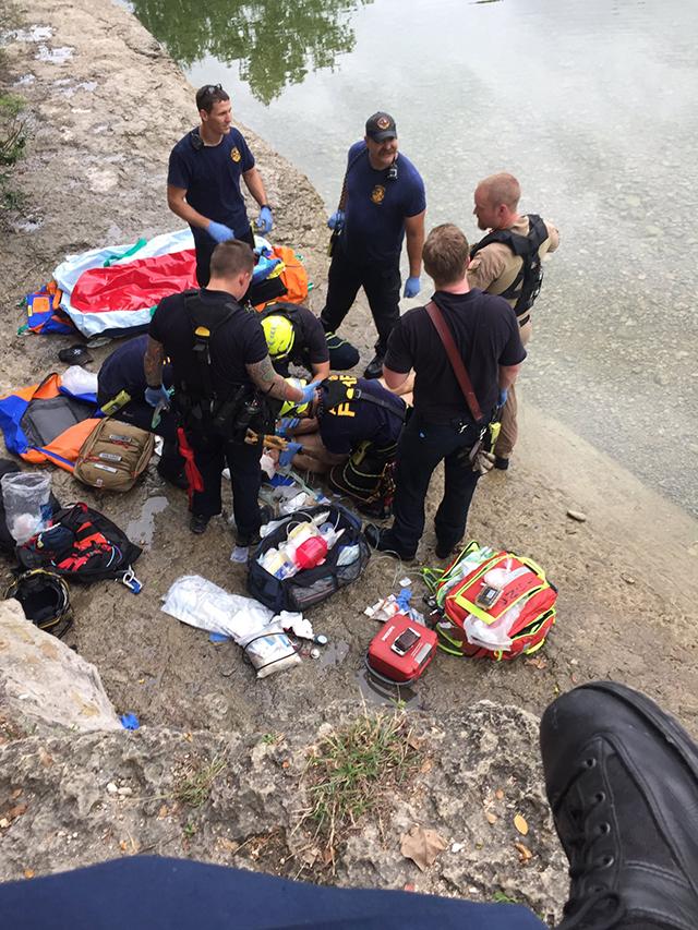 Man rescued from Barton Creek Greenbelt Fall_447503