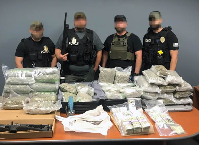 Drugs seized along with the arrest of 10 people by Cedar Park police_469019