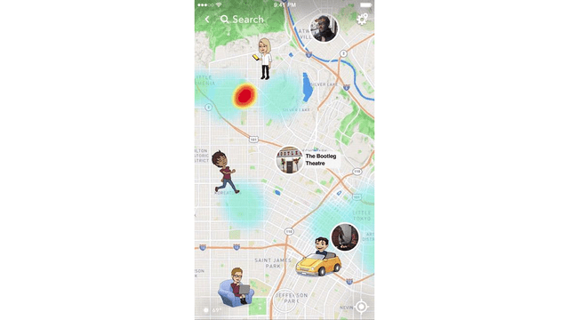 Map Of Texas 99.Snapchat S New Snap Map Has Texas Law Enforcement Worried