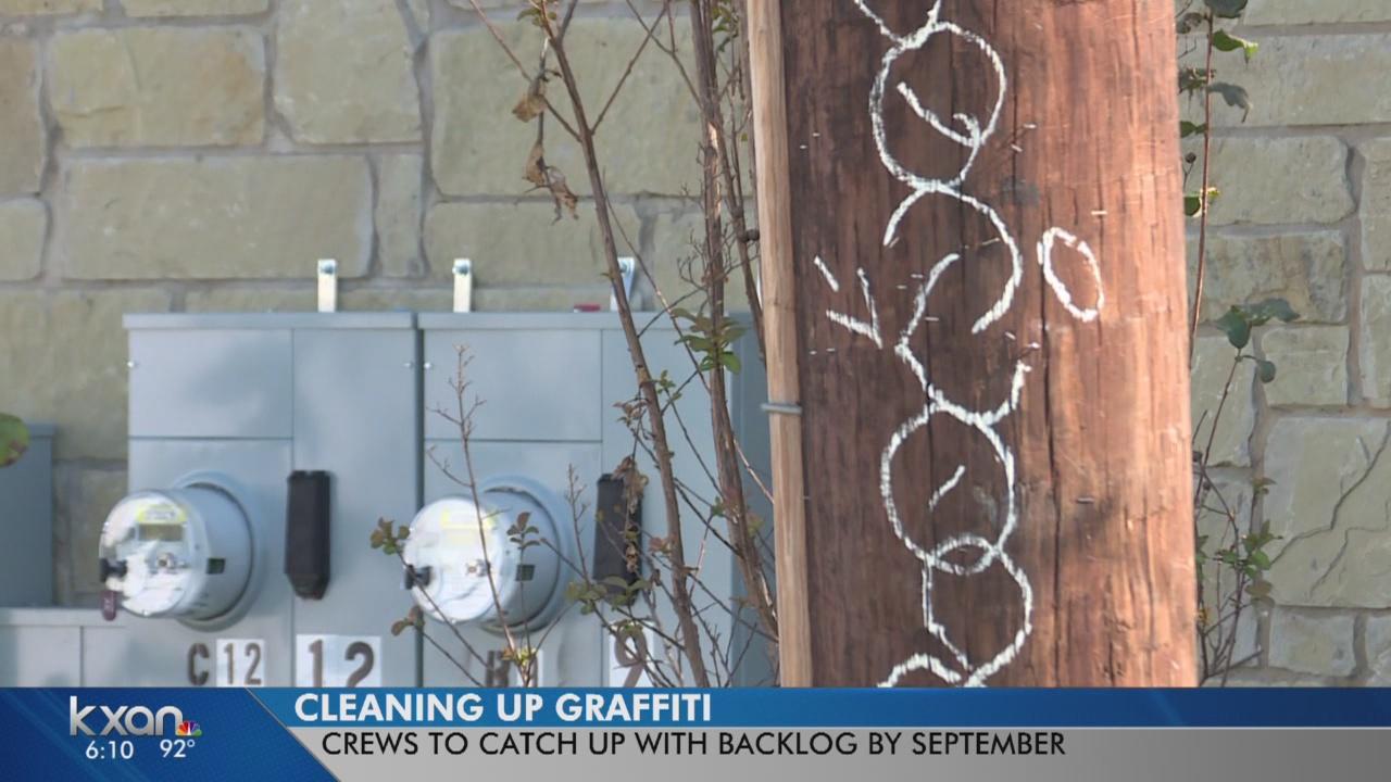 Austin catching up with graffiti backlog