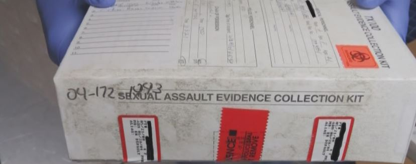Sexual assault kit with apparent mold_502169