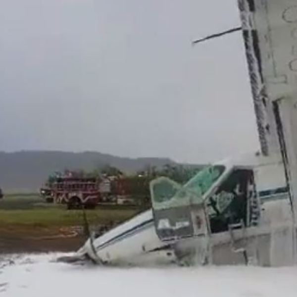 UPS plane crashes in Alpine, Texas_500593