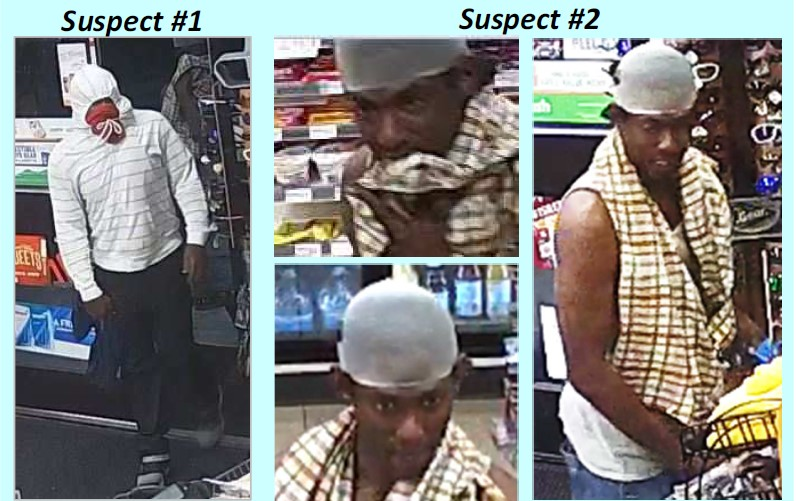 Suspects in the robbery of a 7-Eleven at 3848 Airport Blvd. on Sept. 4, 2017_561390
