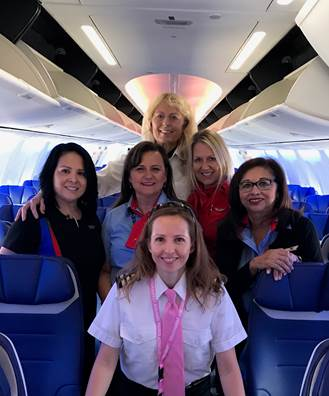 Southwest Airlines all female crew_566940
