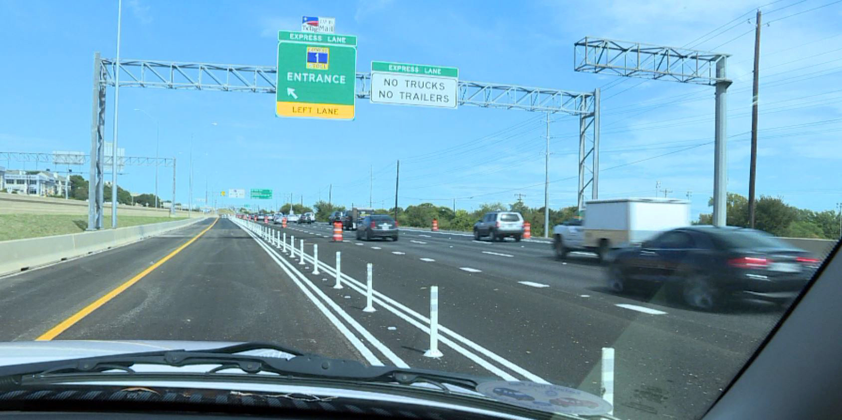 North MoPac tolls - traffic, express lane_361789