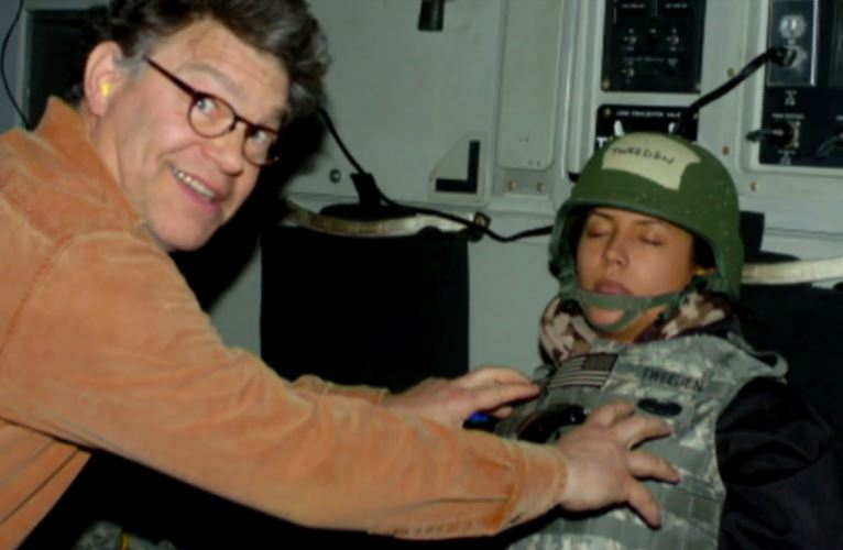 Al Franken apologized following groping and kissing claims from 2006_582890