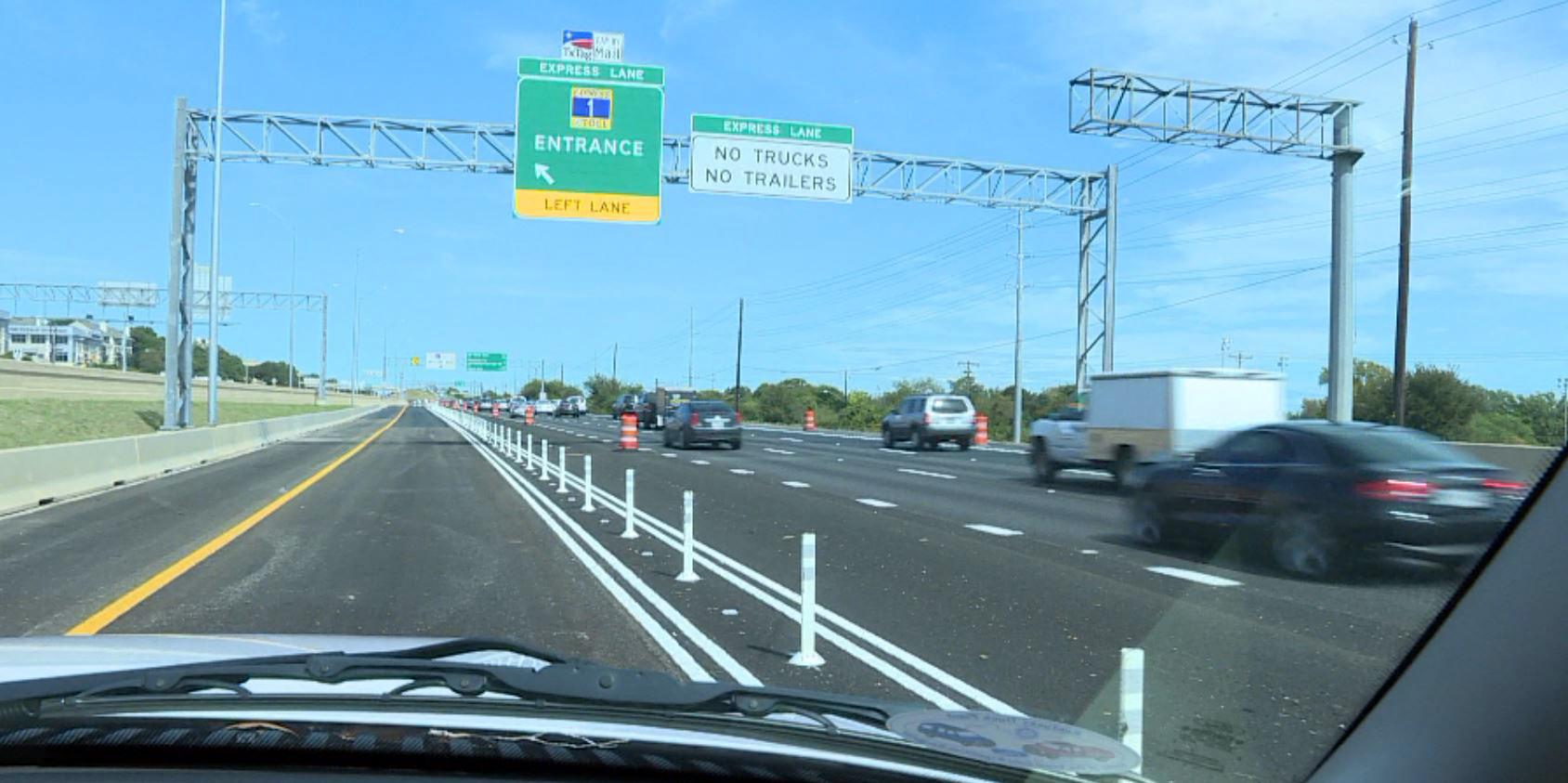 North MoPac tolls - traffic, express lane_361789