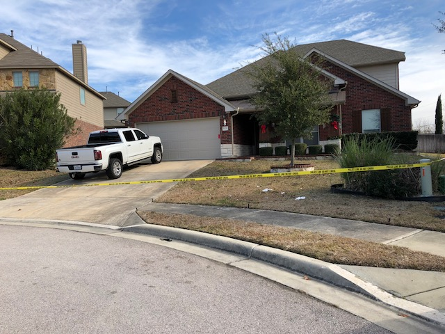 The scene of a suspicious death on Preserve Place in Round Rock_606446