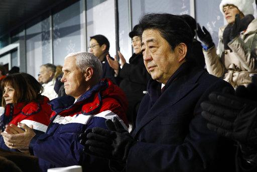 Shinzo Abe, Mike Pence Karen Pence_640887