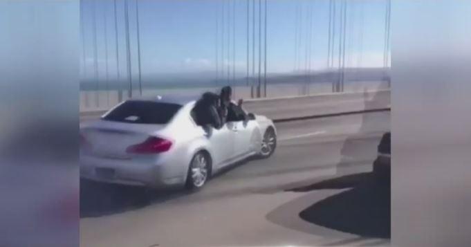 San Francisco Bay Bridge sideshow